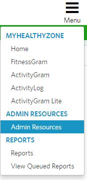 admin resources