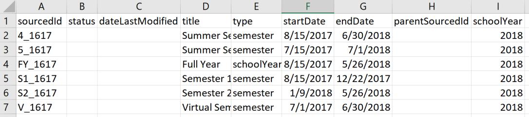 academicsession example